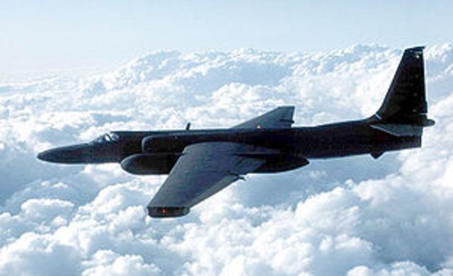 U.S. U-2 plane is shot down by soviets