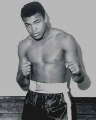 Cassius Clay (Muhammed Ali)