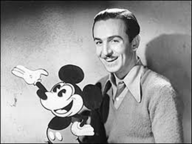 Walt Disney, the creator of Mickey Mouse and a Pioneer of animated films, died of cancer.