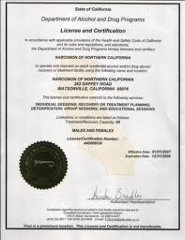 Alcohol License Application