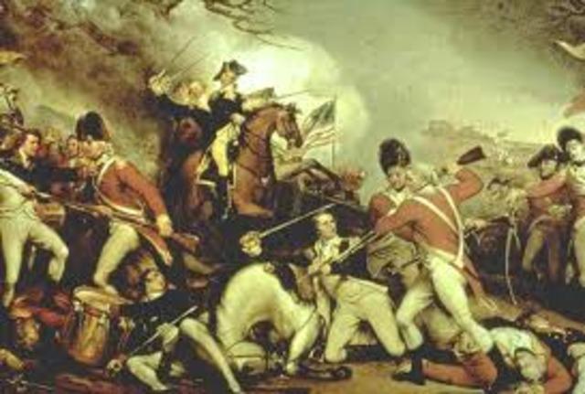 Washington defeated at Brandywine