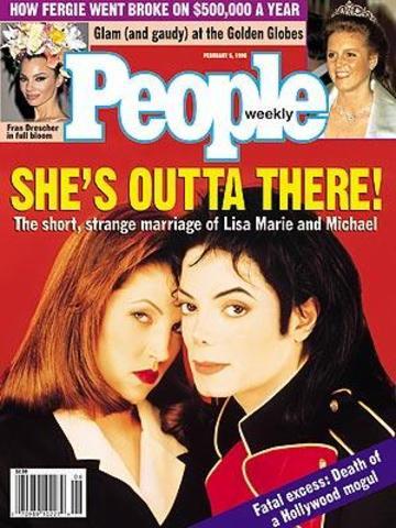 Jackson and Presley divorced.