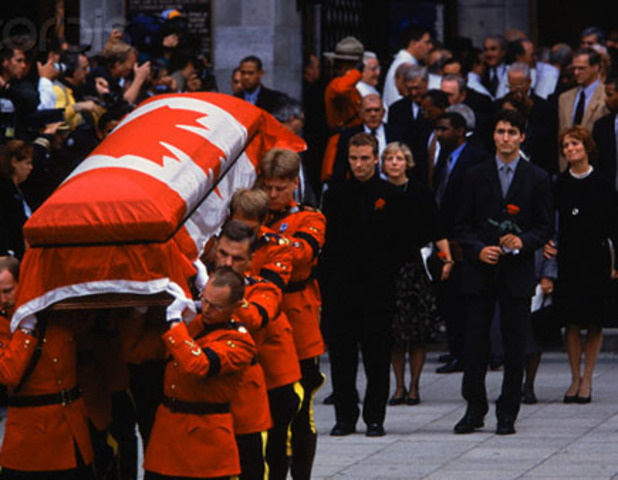 The death of pierre trudeau