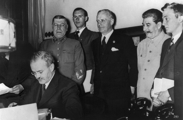 Nazi-Soviet Nonaggression Pact is Signed