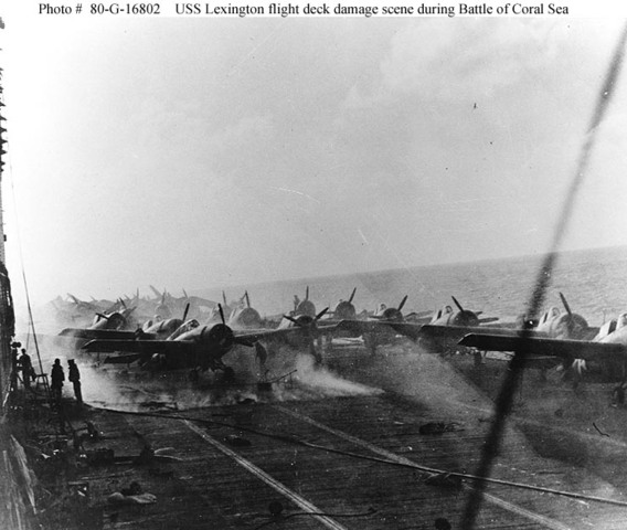 Battle of the Coral Sea Start