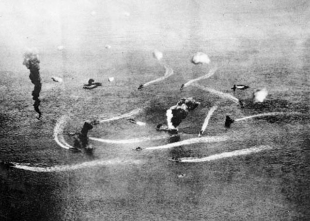 Battle of the Coral Sea End
