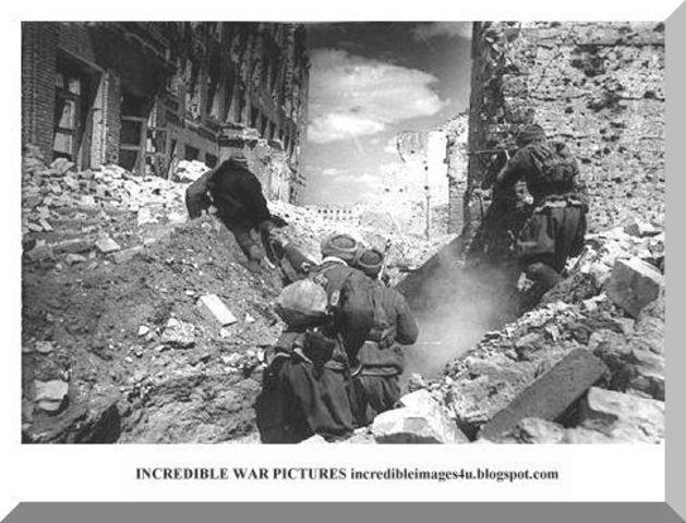 Battle of Stalingrad Start