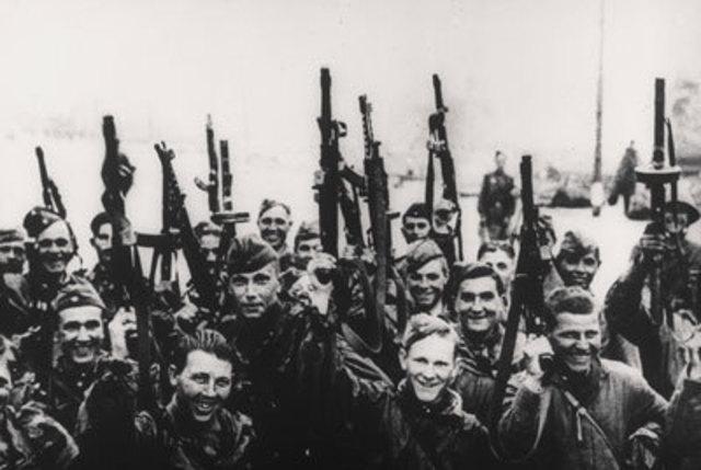 Battle of Stalingrad End