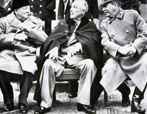 Allied Conference in Yalta Start
