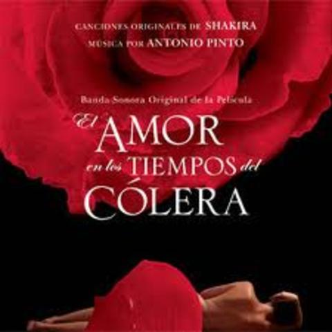 """Novela """"El amor en los tiempos  del cólera"""""""