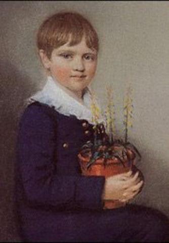 Nacimiento de C. Darwin