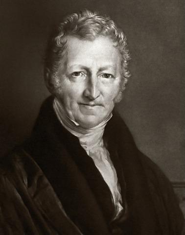 Thomas Malthus publica la versión definitiva de Ensayo sobre el principio de la población.