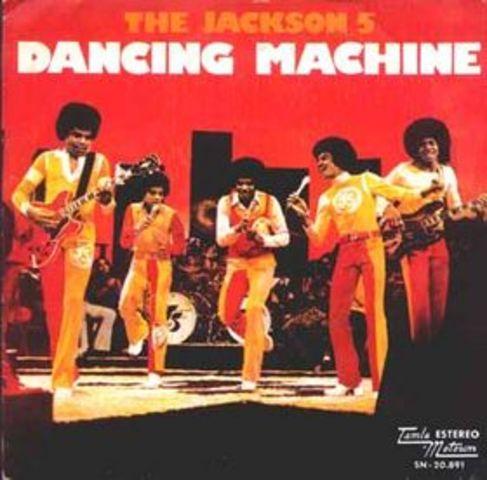 Jackson 5 releases Dancing Machine.