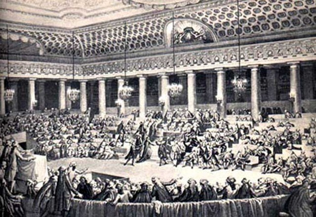 The First & Second Estates join the Third Estate in the National Assembly