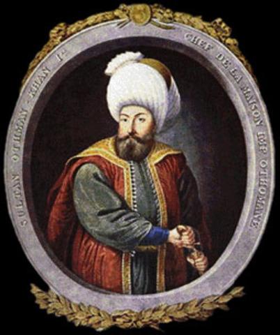 Birth of Ottoman Sultan: Osman I and His Dream