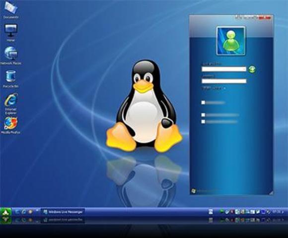 primera version oficial de linux