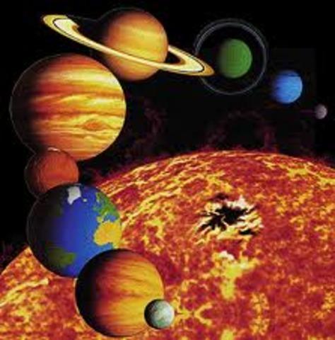 (5 BYA) Formation of Solar System