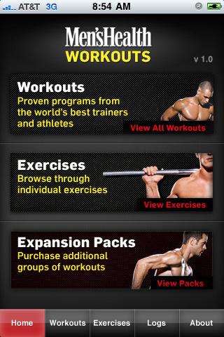 Men's Health Workouts (v1.21)