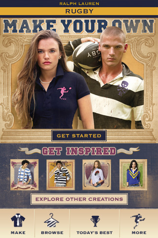 Ralph Lauren: Rugby RL Make Your Own