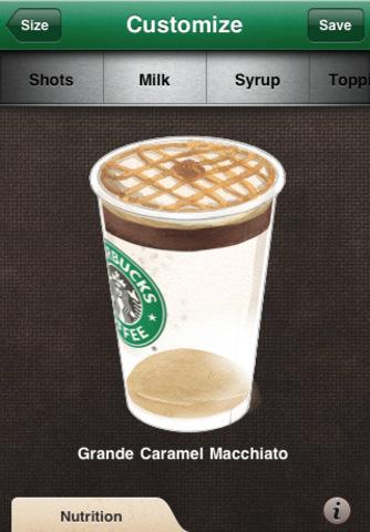 Starbucks: myStarbucks