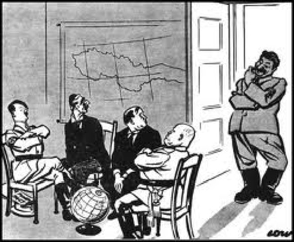 Nazis and Soviets Sign a Pact