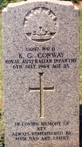First Australian to die as a result of enemy action