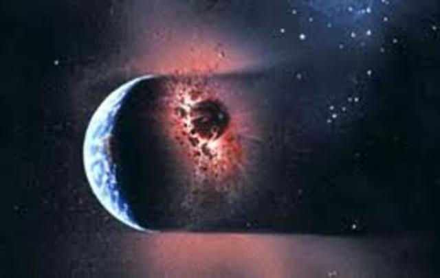 (4.6 BYA) Creation of the Earth