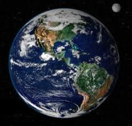 (2.2 BYA) Earth Looks As it Does Today