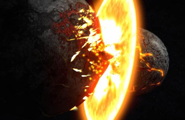 (4 BYA) Earthly Collisions