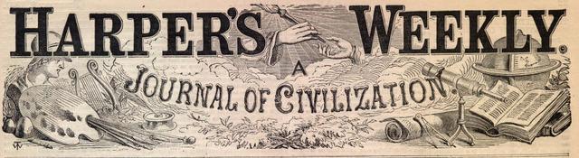 """""""Harper's"""" illustrations bring political change"""