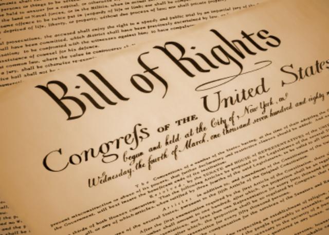 US Bill of Rights (1789)