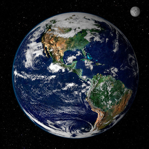 (2.2 BYA) The Earth As It Appears Today