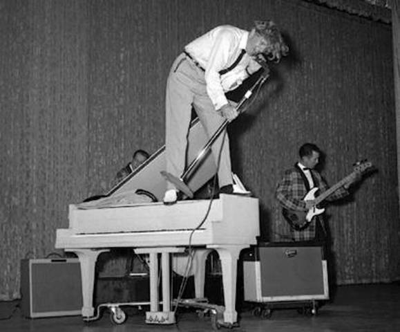 Jerry Lee Lewis put some hits on the charts