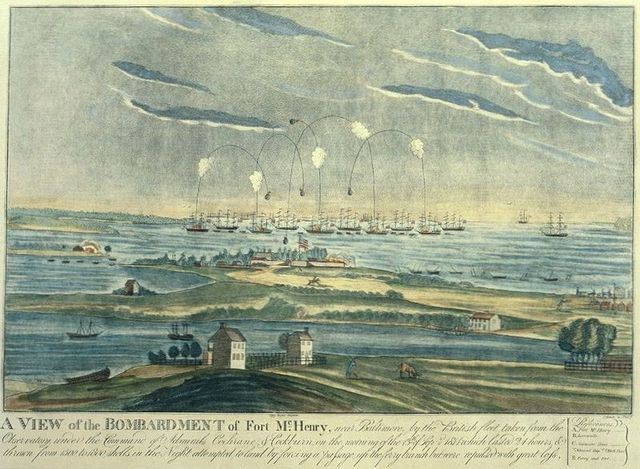 attack on baltimore and the writing of the star spangled banner