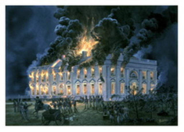 Washington D.C. Attacked and Burned