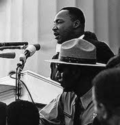 """Martin Luther King Jr Delivers his """"I Have a Dream Speech"""""""