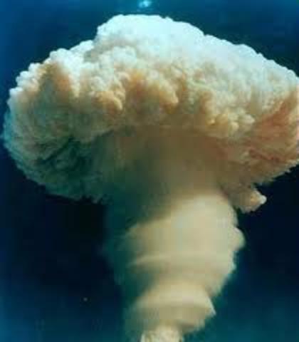China Detonates its First Atomic Bomb