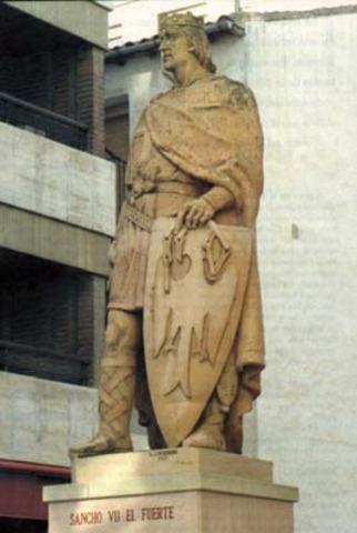 Sancho el fuerte, Dinastía Jimena