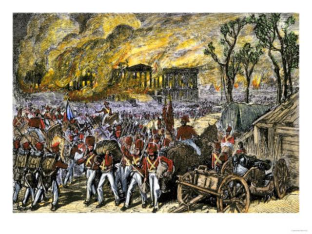 Washington, DC Attacked & Burned