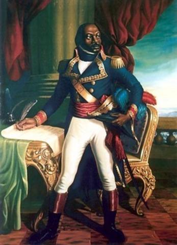 Toussaint L'Ouverture(1743-1803)