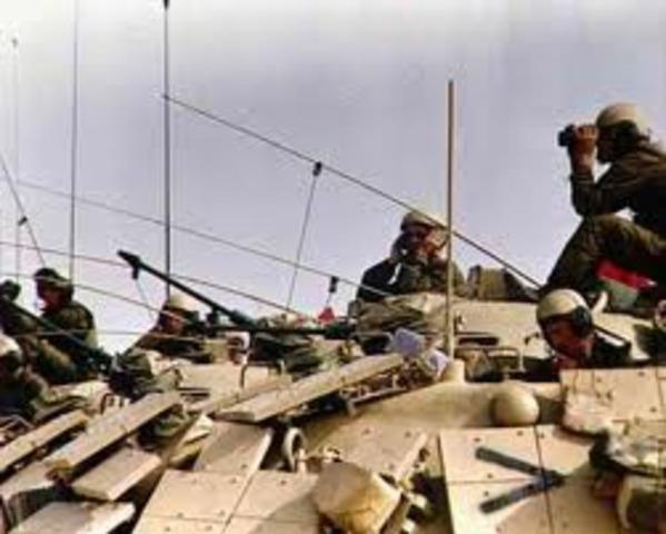 Tropas Iraquies entran a Arabia Saudita