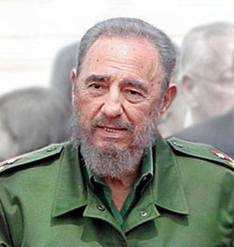 Leader of Cuba