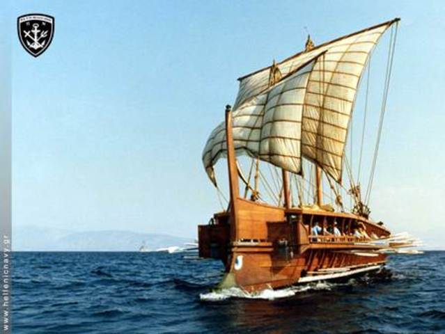 The Trireme 700 BC