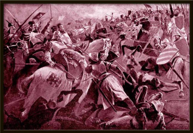 Jan Lucemburský padl v bitvě u Kresčaku