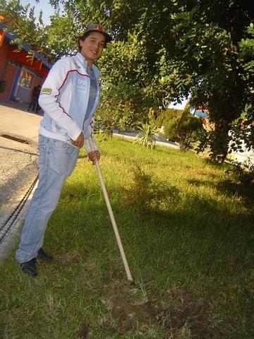CEF Jardinagem - jardins do espaço escolar