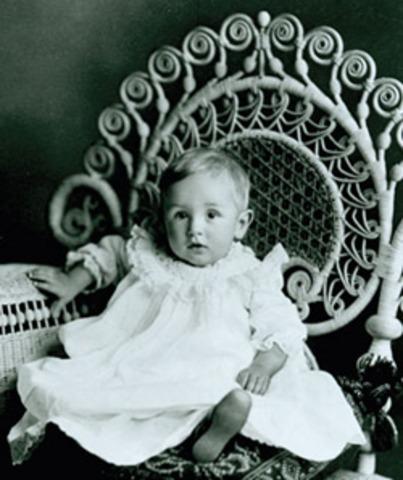 Walt Disney is born
