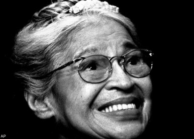 Rosa Parks Refused to Give Up Her Seat on Bus