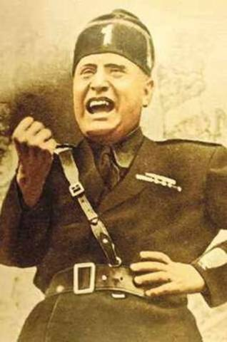 Mussolini threatns to overthrow italy's government.