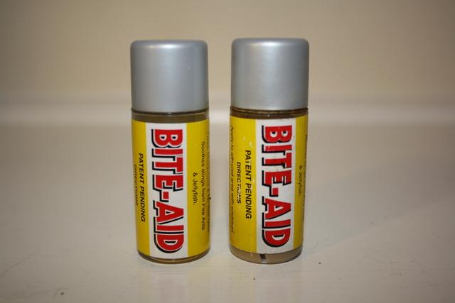 Bite Aid - Original Label and Container