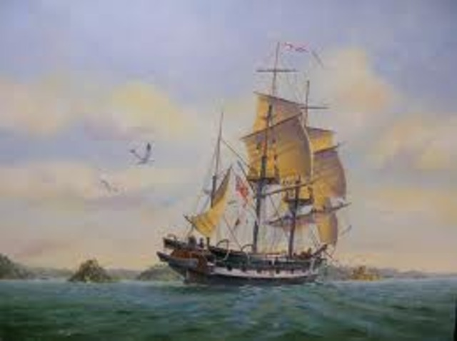 Charles Darwin Sets Sail on the HMS Beagle
